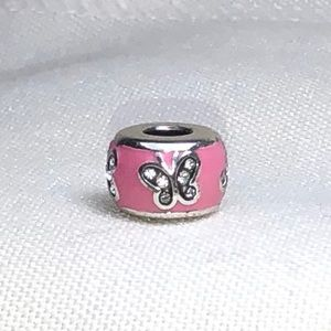 Brighton Butterfly Stopper Charm